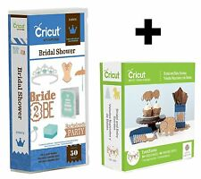 2 Cricut Cartridges - Bridal and Baby Soirees & Bridal Shower - Engagement, Love