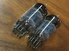 1 par de 6189 usados seleccionados tubos similar a e82cc 12au7 wa ecc82 Tube amp