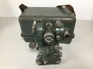 Vintage HILGER Watts lTd #66110 Theodolite in original box