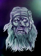 Skull Pirate 1 Special Two Layer Airbrush Stencil Spray Vision Template
