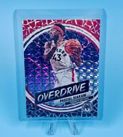 Pascal Siakam 2019-20 Panini Mosaic Silver Prizm Overdrive HOBBY ONLY Raptors📈