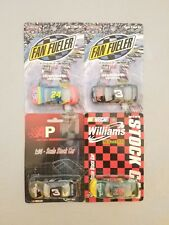 1998 Dale Earnhardt #3 Goodwrench & Jeff Gordon #24 Dupont Action 1/64 Lot of 4