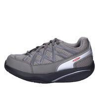 scarpe donna MBT 38 EU sneakers grigio tessuto dynamic AB390-38