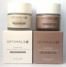ORIFLAME Optimals Even Out Day Cream SPF20 + Night Cream SET !