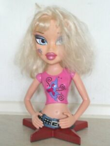 Girl's Hair Dressing Doll's head and torso. Excellent Condition. Ht 39 cm