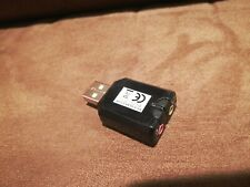 USB 2.0 to 3.5mm & Microphone Stereo Sound Adapter SYBA, USB-S03