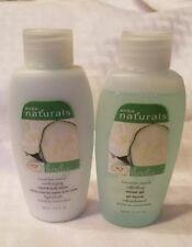 Lot of 2 Avon Naturals Lotion Mini Travel Size Cucumber Melon 1 Lotion 1 Shower
