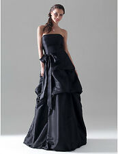 Gorgeous evening/prom dress - Navy taffeta - size 4