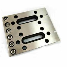 Wire EDM Fixture Board Stainless Jig Tool For Clamping and Leveling 120x100x15mm