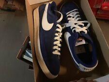 Nike Blazer Low Premium Retro Suede Wildleder Sneaker Gr:47,5 US:13 Blau Sneaker