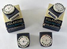 Polaroid Vintage Camera Exposure Meter #625 WORKING selenium 110A, 110B 120