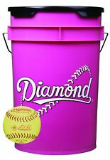 Bucket Combo with 18 - 10-inch Softballs (includes 18 Drc-10Rfpsc Softballs)