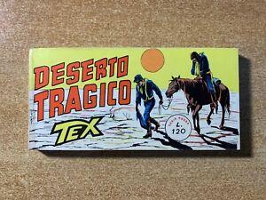 TEX RACCOLTINA A STRISCIA SERIE ROSSA N. 158 - ORIGINALE - NUOVA - GALEP - 1968