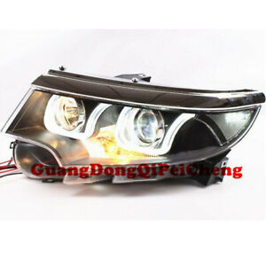HID Bi-xenon Projector And LED DRL  Headlights For Ford Edge 2010-2014 New