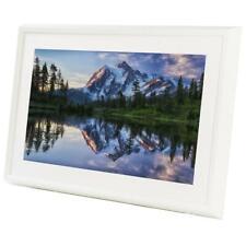 "Meural - Canvas Leonora 27"" Widescreen LCD WiFi Digital Photo Frame - White"