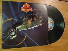 NIGHT RANGER signed 7 WISHES 1985 Record / Album COA BLADES GILLIS KEAGY
