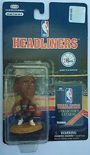 1997 NBA Jerry Stackhouse Philadelphia 76ers Black Uniform Corinthian Headliners