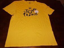 Le Tour De France used t shirt mens L/XL Biking cycling