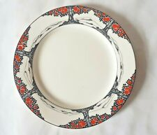 CROWN DUCAL ORANGE TREE PATTERN SIDE PLATES. 3 AVAILABLE, CIRCA 1920-1930