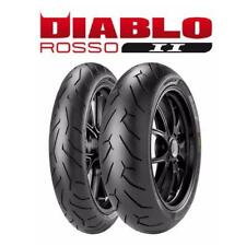 Pirelli  Rosso II 120/70 ZR 17 58W & 180/55 ZR 17 73W Tyre Pair
