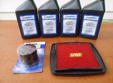 Suzuki Tune Up Kit Oil Air Filter GSXR 750 1100 Bandit 1200 OEM