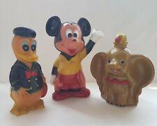 Set of 3 Walt Disney Characters, Coin Bank Figurines, Standard Chartered Bank