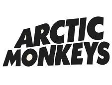 Arctic monkeys sticker logo vinyl. (Any 2 stickers for £5 or any 5 for £10)