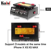 KAISI K-303 SS-T12A Motherboard Repair Tool Heating Station For iPhone X XS MAX