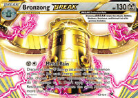 Bronzong Break 62/124 XY Fates Collide Holo Ultra Rare Pokemon Card NEAR MINT TC