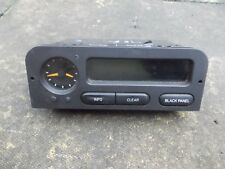 SAAB 900 & 93 MODELS 1998-2002 BROWN FASCIA LCD CLOCK AND RADIO DISPLAY 4519187