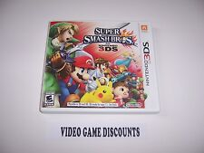 Original Box Case replacement for Nintendo 3DS Super Smash Bros. 3DS *NO GAME*