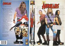AIRHEADS - UNA BAND DA LANCIARE (1994) vhs ex noleggio