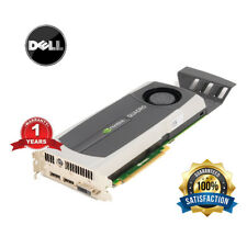 Dell Nvidia Quadro 5000 2.5GB GDDR5 Video Graphics Card YMYKM 0YMYKM DVI DP PCIE