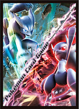 2x Japanese Pokemon XY8 Blue Impact Red Flash MEWTWO Sleeves 32ct NEW SEALED!