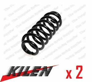 2 x KILEN REAR AXLE COIL SPRING PAIR SET SPRINGS GENUINE OE QUALITY - 51047