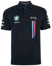 POLO BMW Motorrad World Superbike Team Bike WSBK Poloshirt NEW! Navy Blue