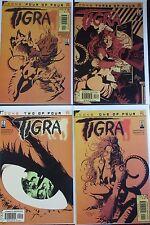 TIGRA #1-4 (NM) Full Set! Christina Z! Mike Deadato Jr! 2002 Avengers Icons