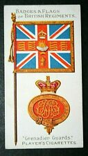 GRENADIER GUARDS    Original 1904 Vintage Colours & Badge Card