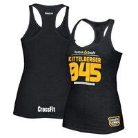 Reebok CrossFit Games 2013 Gretchen Kittelberger 045 Women's Black  Tank Top