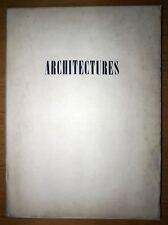 ARCHITETTURE Recueil pubblicato sotto la direzione Citare in giudizio di LOUIS &
