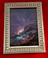 """""""Moonlight"""" by Maxfield Parrish Art Print Repro in New Gold Ornate Frame 8 x 6"""""""