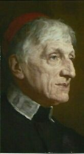 PRAYER BOOK CARD FOR THE CANONISATION  OF BLESSED JOHN HENRY NEWMAN ~ Oratory