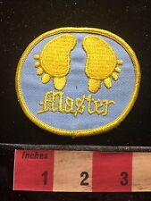 Old School MASTER Patch Feet & Toes 1980s / 1990s Era 72Y8