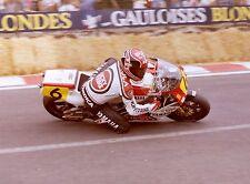 ansichtkaart Yamaha YZR500 1986 #6 Randy Mamola Spa Francorchamps