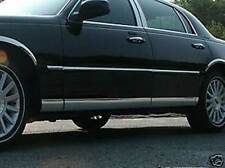 """Fits Mercury Grand Marquis 1998-2011 LS 5""""  Stainless Steel Rocker Panel 8 Pc."""