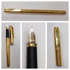 dorado bolígrafo Rotring Pluma 585er Dorado Stift SCHREIBER