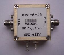 Frequency Divider 0.1-12.0GHz Div 6, FPS-6-12, New, SMA