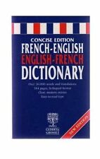 Reference French/English Dictionary Hardback Book