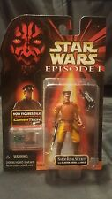 Hasbro Star Wars NABOO ROYAL SECURITY Collection 2 Episode 1 Commtech Chip
