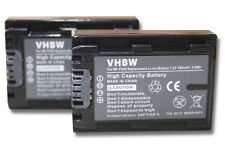 2x BATERIA 500mAh PARA Sony Cybershot DSC-HX200V / DSC-HX200V